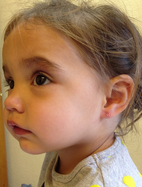 Earrings For Babies Without Piercing 10 Best Earring Baby Images On Pinterest Newborn S